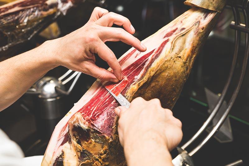 Jamón Ibérico de Bellota - Most expensive ingredients